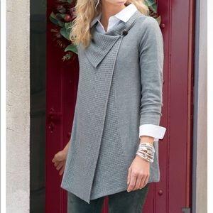 Soft Surroundings Miranda Wrap Cardigan Sweater